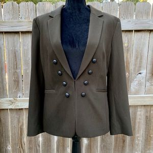Antonio Melani green blazer size 14